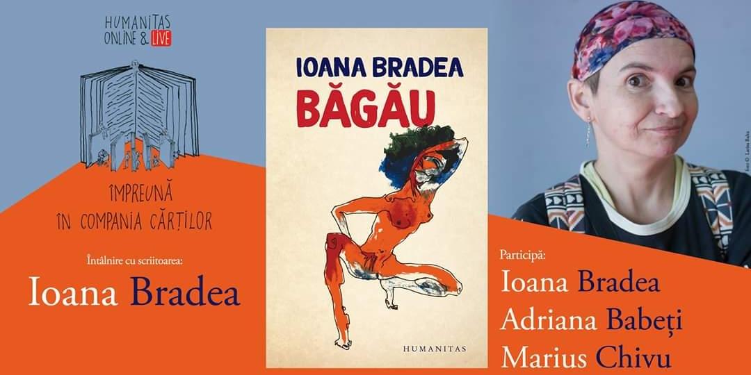 Ioana Bradea lansează carte